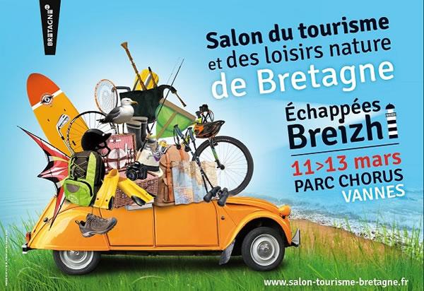 Salon du tourisme et loisirs de pleine nature de bretagne for Salon du tourisme belgique