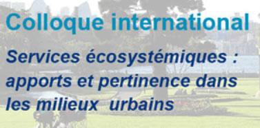 colloque international Services écosystémiques