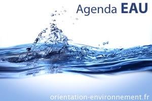 agenda eau environnement
