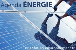 agenda énergie et énergies renouvelables