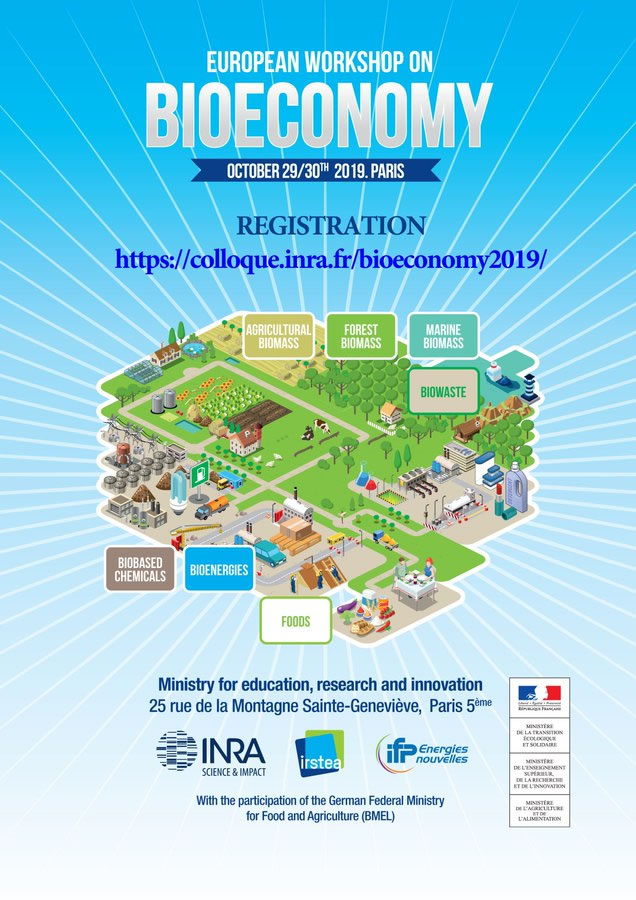 Affiche Colloque bioéconomie