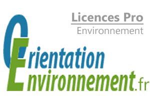 Guide des licences pro environnement
