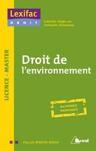 livre droit de l'environnement