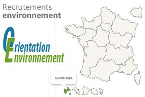 recrutements environnement Guadeloupe