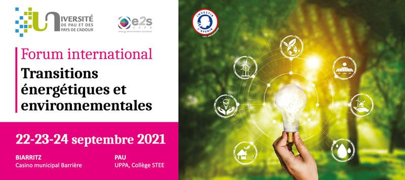 Forum Transitions énergétiques et environnementales